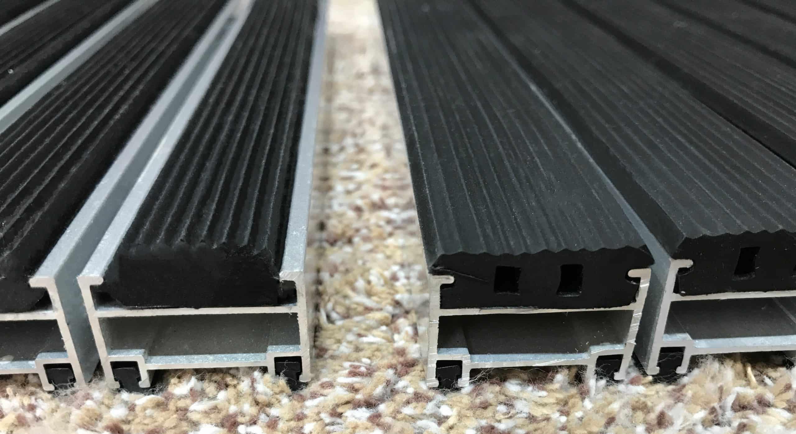 膠條面鋁合金吸水地墊 T20mm