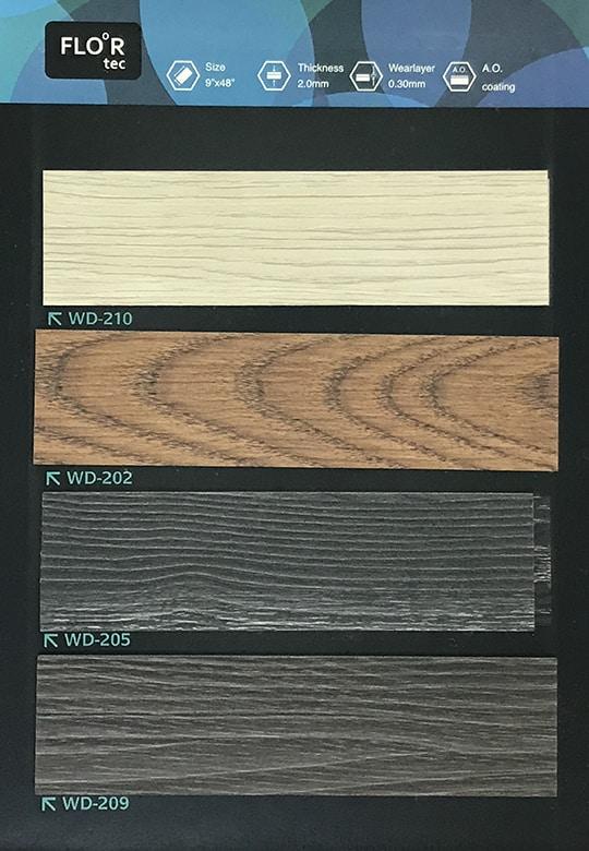 台灣木紋膠地板10 W9