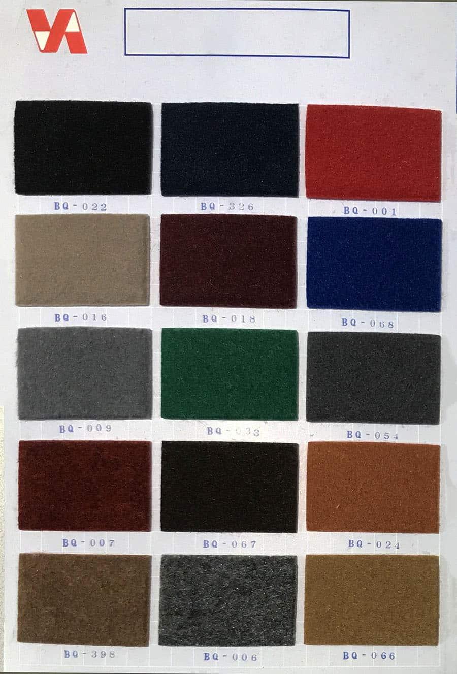 比利時厚身絨面展覽地毯 Belgium KK Carpet