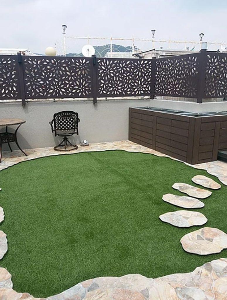AT806人造草皮鋪設綠化工程 (大埔獨立洋房平台)