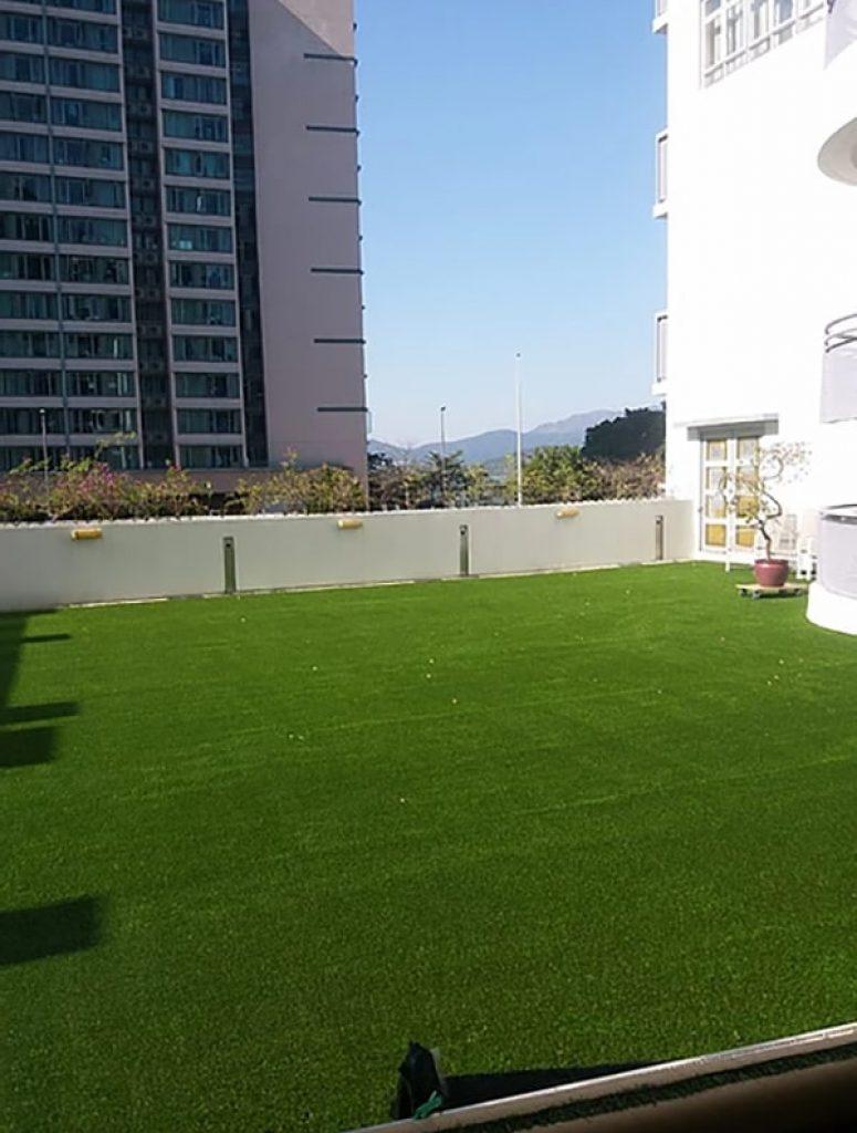 AT806人造草皮鋪設綠化工程 (馬鞍山學校平台)