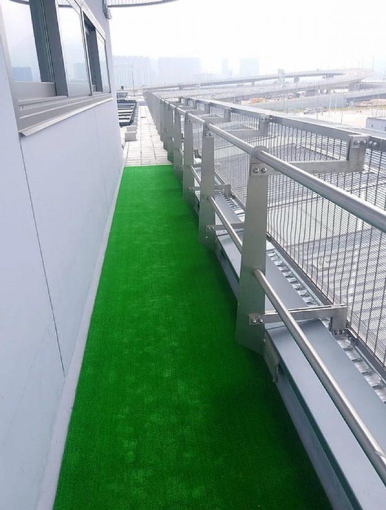 AT801人造草皮鋪設綠化工程 (香港海關學院)