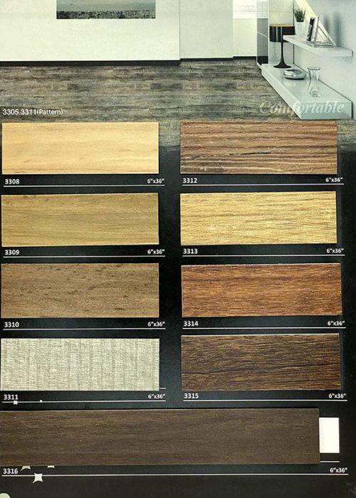 長條木紋膠地板14 W6