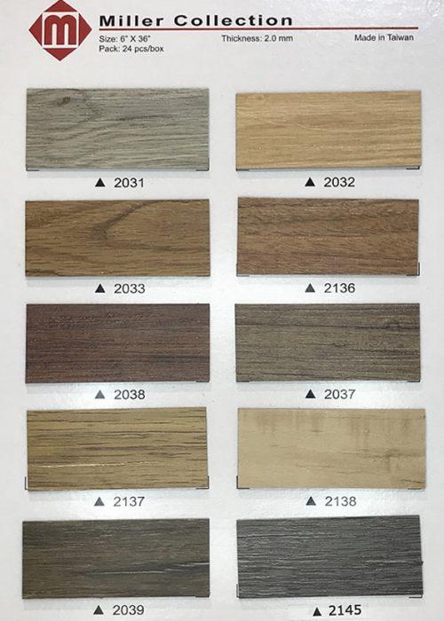 長條木紋膠地板07 W6