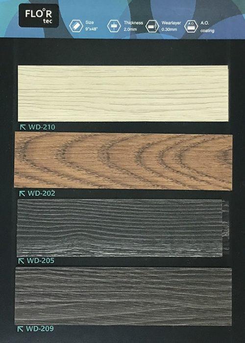 長條木紋膠地板10 W9