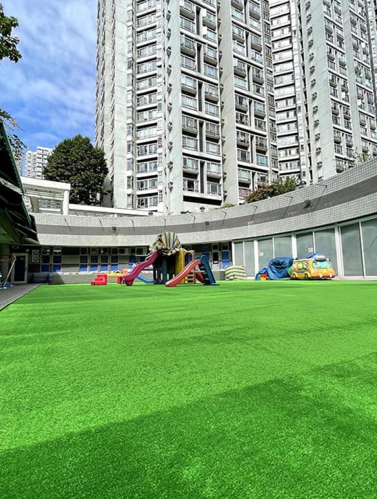 AT801人造草皮鋪設綠化工程 (迦南幼稚園)