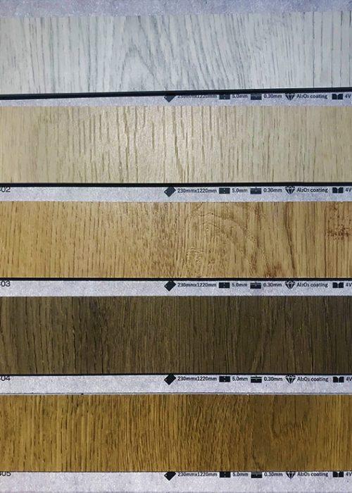 石塑無縫膠地板05 L1220mm x W230mm x T5mm